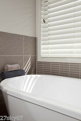 white Venetian Blinds 50mm 137(H)x45(W)cm