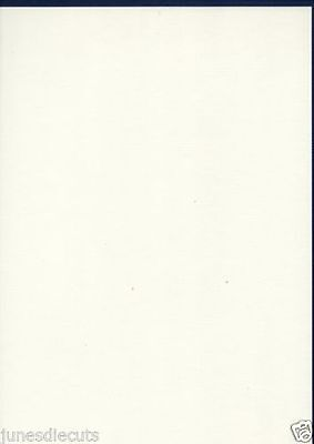 Ivory Linen A4 Quality 240gsm Card Stock select pack size FREE 1st class Postage