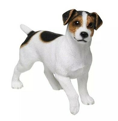 Jack Russell Dog Ornament Figurine Statue Figure Gift For Dog Lovers