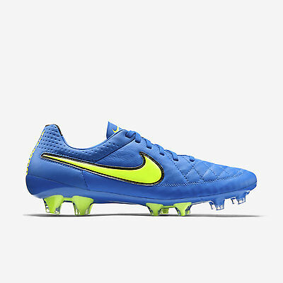Nike Tiempo Legend V FG Mens Leather Football Boots Moulded Firm Ground RRP £145