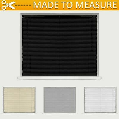 Made To Measure Pvc Venetian Blind - Cream / Black / White - Custom Made