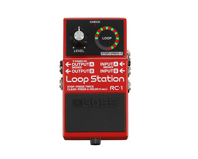 Boss RC-1 Loop Station Electric Guitar Effects Pedal