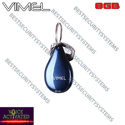Listening Device Voice Recorder Vimel Audio Voice Activated No Spy Hidden 8GB
