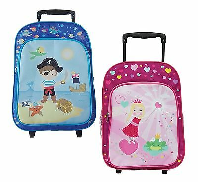 kinder trolley reise koffer rucksack prinzessin pirat. Black Bedroom Furniture Sets. Home Design Ideas