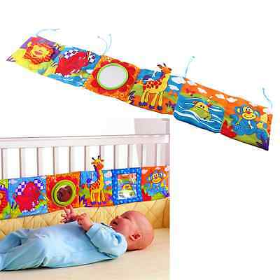Mirror Study Animal Bed Cognize Cloth Book Infant Baby Intelligence Toy Lovely