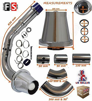 Universal K&n Type Performance Cold Feed Induction Pipe/air Filter Kit – Su-1