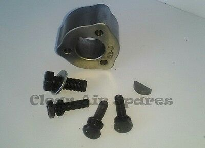 """7⁄8"""" (22mm) Blade Disc Boss, Bolts & Woodruff Key suits Rover Mowers"""