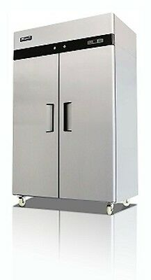 Migali C-2F Commercial Two Door Freezer Reach In 49 Cu.Ft.