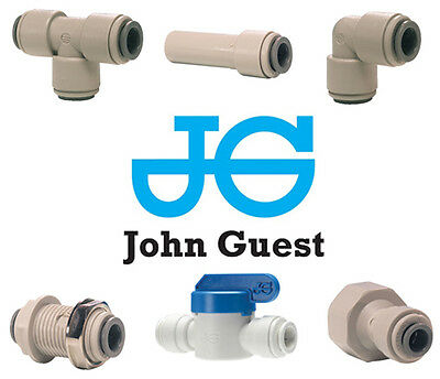 "John Guest 3/8"" Push Fit fittings drinks, Dispense, Ro Units, Brewery"