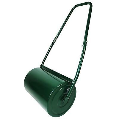 New 30L Water Or Sand Filled Steel Garden Lawn Roller