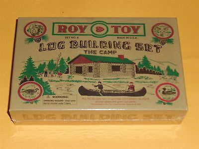 log building set set no. 9 the camp Great Christmas Gift