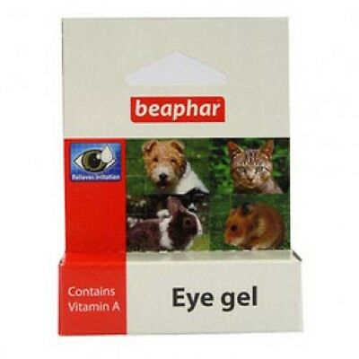 Beaphar Eye Gel for Dogs, Cats & Small Pets, Vitamin A Relieves Irratation 5ml