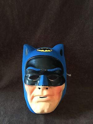 Vintage 70's 1977 Batman Halloween Mask costume Ben Cooper
