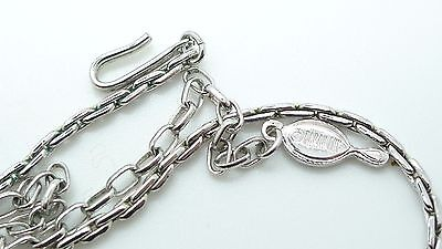 Sarah Coventry Vintage Silver Tone Necklace