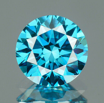 3.3 MM BUY CERTIFIED Round Fancy Blue Color Loose Natural Diamond Wholesale Lot
