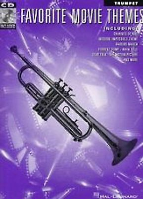 Favorite Movie Themes Trumpet Play Along Book CD Sheet Music Intermediate S102