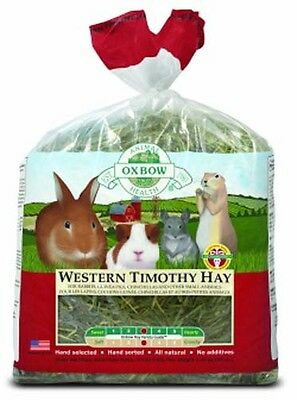 Petlife Oxbow Western Timothy Hay Rabbit Guinea Pig & Small Pet Hay 2.55kg