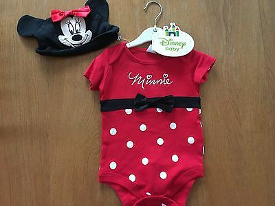 Baby Toddler Minnie Mouse Disney Dressing Up/Fancy Dress Set 12-18 months