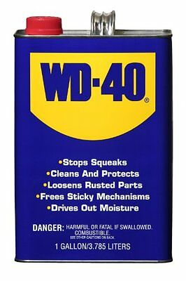 WD-40 490111 Multi-Use Lubricant Product Heavy Duty One Gallon (Pack of 1)
