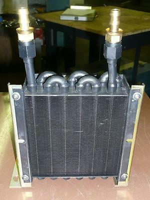 Lytron 6110-G1 Heat Exchanger w/Fan - Copper Tube and Fin