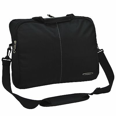 Water Repellent Ballistic Nylon Lightweight Laptop Computer Shoulder Briefcase
