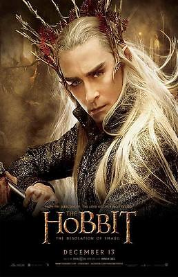 The Hobbit: The Desolation of Smaug Movie POSTER 11 x 17,  K, LICENSED NEW