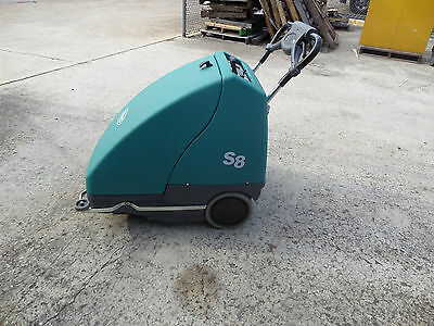 Tennant S8 Battery Walk Behind Sweeper  Nice
