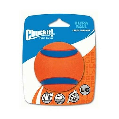 ChuckIt! Ultra Ball Tough Durable Dog Toy Fetch Floating Ball 3 Sizes