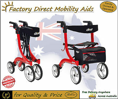 Drive Nitro Mobility Rollator Walker Amazing New Design!