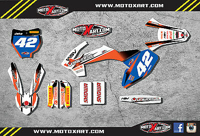 Custom Graphics full Kit ACTIVE Style stickers to fit KTM 65 2016 2017 2018