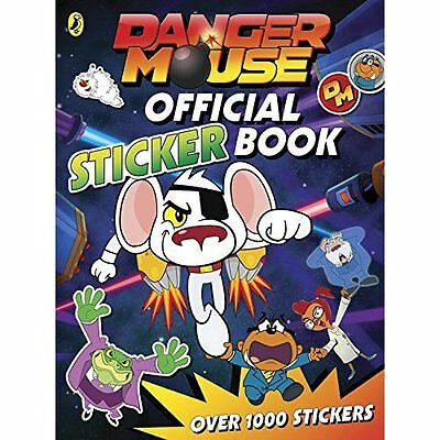 Danger Mouse: Official Sticker Book Puffin Paperback 9780141366845
