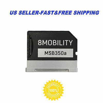 8mobility iSlice Aluminium Micro SD TF Card Adapter for Microsoft Surface Book