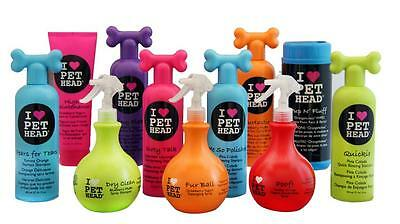 Pet Head Shampoo, Conditioner, Sprays Puppy & Dog Grooming Products