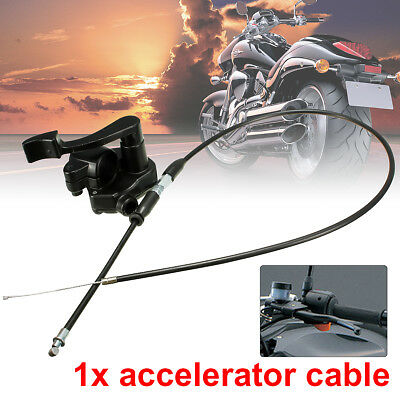 "7/8"" Quard ATV Bike 110-150cc Throttle Lever Thumb Controller Assembly Cable"