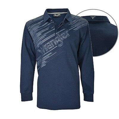Wranglers Mens Bluey Rugby