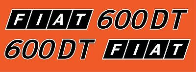 Fiat 500 DECAL TRACTOR Reproduction STICKERS