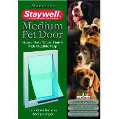 Staywell Aluminium Small Pet Cat & Dog Flap Dog Various Sizes