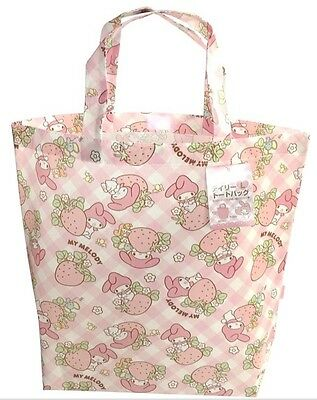 SANRIO KAWAII My Melody Tote Bag  Size -L You Will be Noted  F/S AIRMAIL JAPAN