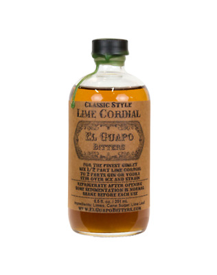 El Guapo Lime Cordial 250ml
