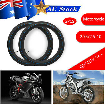 "2.75/2.50 - 10"" Inch Rear Back Inner Tube 50/70/90/110/125cc PIT TRAIL Dirt Bik"
