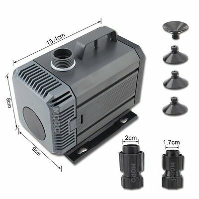 Submersible Aquar Fountain Pond Marine Water Pump Fish Tank Hydroponic AU Plug