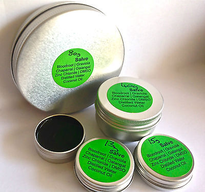 Authentic, 40g Organic Bloodroot Black Drawing Cream/Balm
