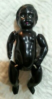 Antique Cute Small Celluloid Doll Toy  Japan Very Rare!