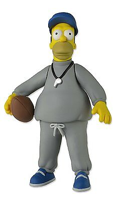 The Simpsons 25th Anniversary NECA Series 1 Coach Homer Simpson Action Figure