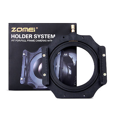 Zomei 77mm Metal Adapter Ring+100mm Filter Holder for Lee Cokin Z PRO 4X4""
