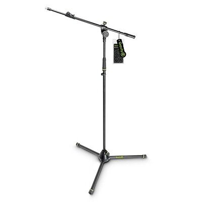 Gravity GMS4322B Heavy Duty Microphone Mic Boom Stand with Foldable Tripod Base