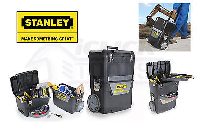 Stanley STA193968 2 in 1 Rolling Workshop Toolbox Wheeled Toolchest 1-93-968