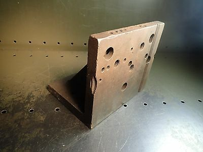 """8"""" x 7"""" x 6"""" Machinist Mill Set-Up Right Angle Plate Fixture"""