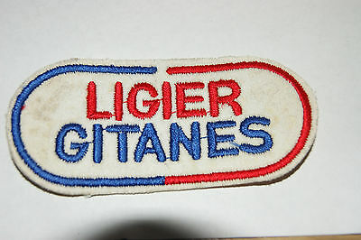 Job Lot X 10 Ligier Gitanes Badge Label Picture With Sew On Patch New Tool Diy