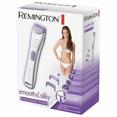 Remington Cordless Womens Wet & Dry Precise Bikini Line Shaver Trimmer - BKT4000